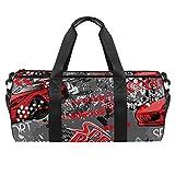 TIZORAX Speed-Racer Sporttasche für das Auto, für die Fitness, Reisetasche, Dachgepäckträger