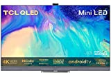 TCL 55C826K Mini LED TV 55 Zoll QLED Smart TV, 4K UHD, Android 11, unterstützt 120Hz Gaming, Dolby...