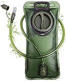 hualiyuyuan Blase, 2 Liter, auslaufsicher, Wasserreservoir, Militär-Wasserspeicher-Blase,...
