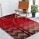 Kunsen Teppich Wohnzimmer Luxus-Abstrakter geometrischer Innenraum-Wohnzimmer großer...