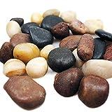 1,5 kg Flusskiesel Dekosteine weiß grau braun Granit Kieselsteine als Streudeko oder Zierkiesel....