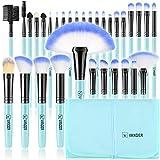 Make-up Pinsel, Vander 32 Stück Professionelle Make-up Pinsel Set Synthetik Foundation Concealer...