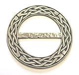 Tuchring, keltischer Knoten, aus Zinn, ringförmig, hergestellt in Schottland