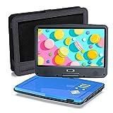 SUNPIN Tragbarer DVD-Player für Auto und Kinder mit Halterung, 10.5' HD-Bildschirm, 5 Stunden...