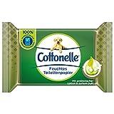 Cottonelle Feuchtes Toilettenpapier, Wohltuende Sauberkeit, Mit prebiotischer Lotion, Biologisch...