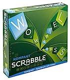 Mattel Games CJT13 Scrabble Kompakt Wörterspiel, Familienspiel geeignet für 2 - 4 Spieler,...
