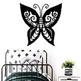 BailongXiao Klassische Schmetterling wandaufkleber Dekoration zubehör wasserdicht wandtattoo...