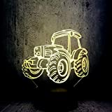 WangZJ Beach Dune Buggy Auto 3D LED Lampe Nachtlicht Cooles Spielzeug Teenager...