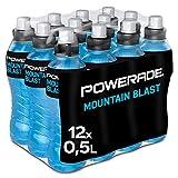 Powerade Sports Mountain Blast, Iso Drink mit Elektrolyten - als erfrischendes, kalorienarmes...