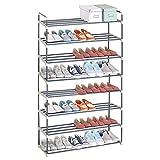 WOLTU® SR0019-a Schuhregal Schuhständer Schuhablage, 8 Schicht für 40 Paare Schuhe, XXXL Ständer...
