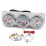 LZP-PP Universal-52MM Triple-Messgerät Voltmeter Wassertemperaturanzeige...