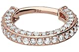PIERCINGLINE 18 Karat Gold Segmentring Clicker | Piercing Ring Septum Helix Tragus | Farb &...