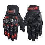 IAMZHL Motorradhandschuhe Herren Motocross Handschuhe Vollfinger Reiten Motorrad Moto Handschuhe...