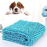 BIGNADO Shammy Handtuch für Hunde, super saugfähig, schnell trocknend, Mikrofaser, weich,...
