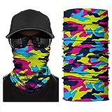 Multifunktionale Kopfbedeckung Schal Gesichtsmaske Abdeckung 3D Nahtlose Stirnband Bandage Motorrad...
