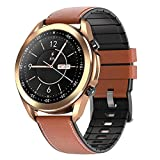 HQPCAHL Smartwatch, 1,28 Zoll Armbanduhr Mit Bluetooth Telefonie, Personalisiertem Bildschirm,...