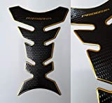 Tankpad Tankschutz Motorrad Carbon Optik Gold Schwarz universal
