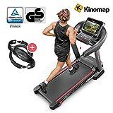 Sportstech F37 Profi Laufband-Deutsche Qualitätsmarke- Selbstschmiersystem,APP Kinomap, 7PS bis 20...