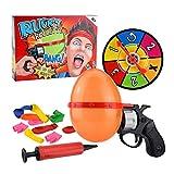 heling896 Russische Roulette Ballonpistole Kreativer Spa Plattenspieler Ballon Set Interaktive...