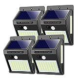 Solarlampen für Außen mit Bewegungsmelder,【Hohe Qualität 100LED-1000Lumen】 Solarleuchte...