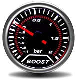 LHQ-HQ 52mm LED White Autow Tachometer RPM Meter Luft Kraftstoffanzeigen Boost Gauge Balken PSI...