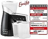 ROMMELSBACHER OP 700 elektrische lpresse Emilio, schonendes Kaltpressverfahren, 2...