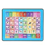 Baby-Touchscreen Lernen Spielzeugmaschine, Kinder frühen pädagogischen Englisch Lernen E-Book Toy...