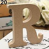 seawood Freistehende Buchstaben A-Z Holz Buchstaben Alphabet Hängen Hochzeit Home Party Decor...