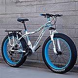 CLOTHES Pendler Stadt Rennrad, Mens Fat Tire Mountain Bike, Strand Schnee-Fahrrad,...