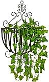 Blumenstnder TXC Wandregal Metall dekorative Wandbehang Aufbewahrung Regal Wohnzimmer grn Blumentopf...