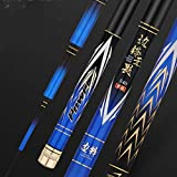 NYKK Angelrute Angel Hand Pole Super Light Super Hard Taiwan Angelrute Schwarz Pit Rod Carp...