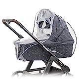 Zamboo Universal Komfort Regenschutz für Kinderwagen/Babywannen - gute Luftzirkulation,...
