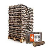 PALIGO Holzbriketts Hartholz Nestro M Kamin Ofen Brenn Holz Heiz Brikett 6kg x 162 Gebinde 972kg / 1...