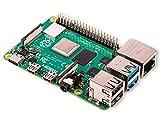 Raspberry Pi 4 Modell B Basisplatine, 2GB, ARM-Cortex-A72, 4x1,50GHz, WLAN-ac, Bluetooth 5.0, LAN,...