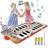 Vimzone Piano Matte für Kinder, Tanzmatte Musikmatte Klaviermatte Klaviertastatur Spielzeug Touch...