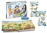 tiptoi Ravensburger 00805 - Create Starter-Set: Stift und Weltreise-Buch + 2X Create Stickerbögen-...
