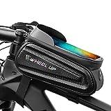 Sawpy Handyhalterung Fahrrad Rahmentasche, wasserdichte Tasche Fahrradtasche, 7 Zoll Smartphone...