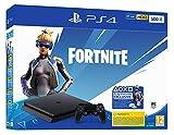 - PlayStation 4 Slim - Konsole (500GBJet Black) + 1 Controller: Fortnite Neo Versa Bundle