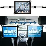 Girafus Tablethalter Auto Kopfstütze Mittig Stabil / 9 10 11 Zoll Tablets / für iPad Galaxy Tab...