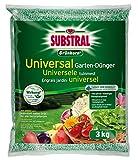 Substral Grünkorn Universal, Hochwertiger, nitratfreier Gartendünger für Blumen, Sträucher,...