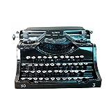 WUYANSE Retro Vintage Schreibmaschine, Display Requisiten Modell handgemachte Dekoration für Home...