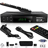 Echosat HDMI SCART HD Receiver Satellit DVB S2 HD Receiver für SAT Digitaler Satelliten SAT...