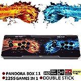 SeeKool Pandora 11 Home Arcade Konsole Video Spiel-Konsole, 2255 in 1 Joystick Spielkonsole, 2...
