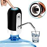 Moguat Wasserspender für Karaffen mit Adapter, elektrischer Dosierer, automatisch, abnehmbar, USB,...