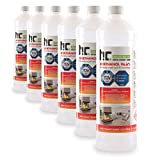 Höfer Chemie 6 x 1 L Bioethanol 96,6% Premium - TÜV SÜD zertifizierte QUALITÄT - für Ethanol...