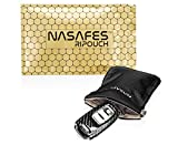 Autoschlssel Schutz Keyless Tasche mit magnetisch-geruschlosem Federverschluss ermglicht 1 Hand...