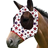 Harrison Howard Elastizität Pferd Fliegenmaske Hervorragender Komfort mit UV-Schutz Standard Pferd...