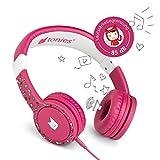 Tonie-Lauscher pink: Kinder Kopfhörer passend zur Toniebox - Lautstärke reguliert, Abnehmbares...