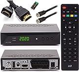 [ Test GUT *] Anadol HD 222 Pro + Satkabel + HDMI Kabel - PVR Aufnahmefunktion Timeshift, - UNICABLE...