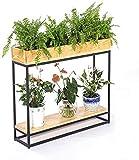 YWYW - Blumenständer Büroregal Wohnzimmer Bonsai Trennwand für Veranda Bar (Größe: 100 x 30 x...